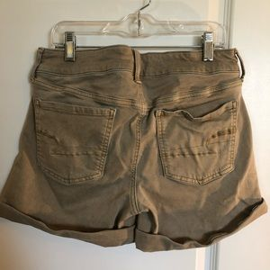 American Eagle Outfitters Shorts - American Eagle Midi Super Stretch shorts
